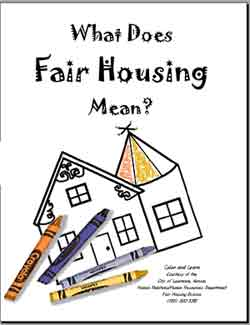 Click here to download the Fair Housing Coloring Pages