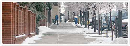 clean sidewalk
