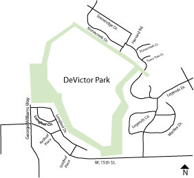 DeVictor Park Directions