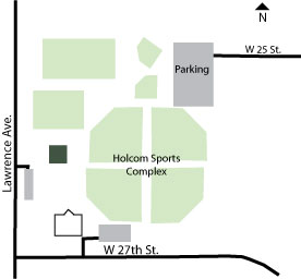 Holcom Sports Complex Directions