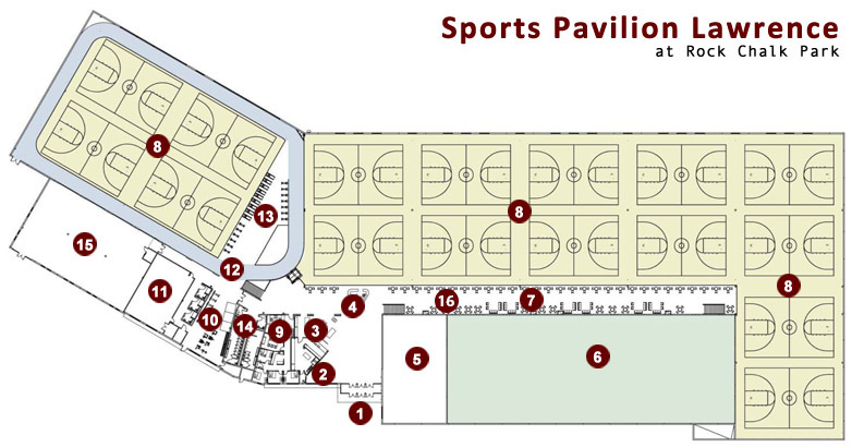 Facility Layout map