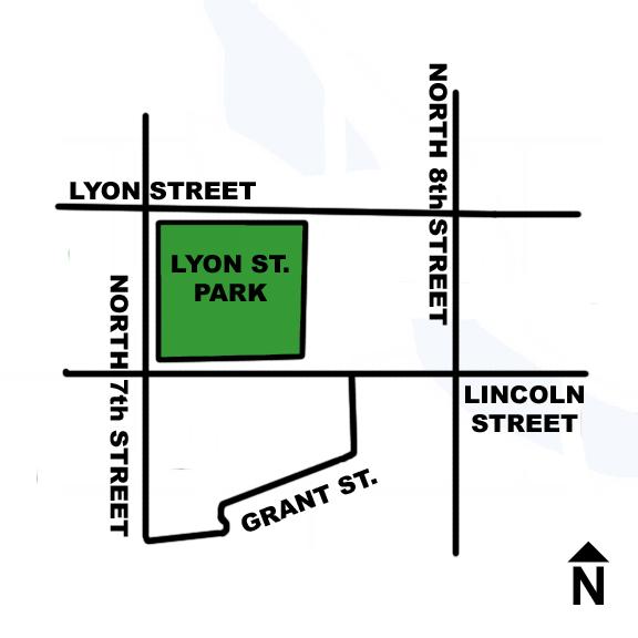Lyon Street Park Directions